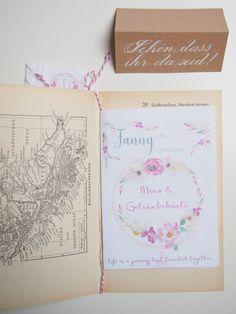 Hochzeit DIY Motto Reisen, Menü- und Getränkekarte Inspiration, Paper, Stapler, Place Cards, Other, Travel, Decorations, Craft, Biblical Inspiration