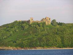 Llansteffan Castle  Maurice FitzGerald  Lord Llansteffan