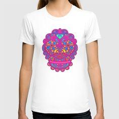 Star Wars - Chewbacca Women's T-shirt by Nathan Owens Boba Fett T Shirt, Nathan Owens, Star Wars Boba Fett, T Shirts For Women, Clothes For Women, American Apparel, Aztec, Organic Cotton, Skulls