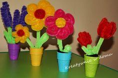 Kwiatki DIY na zakończenie roku | Kreatywnie w domu