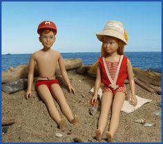 ...Ricky and Skipper..I had a Skipper doll, still do : ).  I had Skipper when I was little. She was the best!