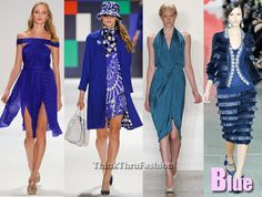 Blue Fashion Trends