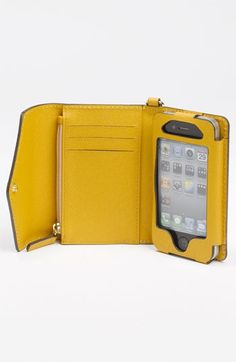 An iPhone wallet case lightens your load, protects your phone and safely tucks away valuables such as credit cards and cash.