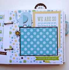 Artsy Albums Scrapbooking Kits and Custom Designed Scrapbook Albums by Traci Penrod: Another Bundle of Joy with Echo Park
