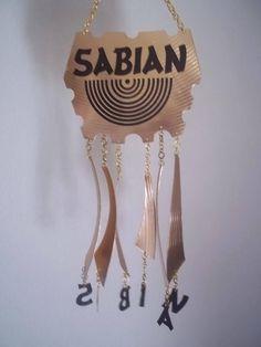 Sabian cymbal wind chimes