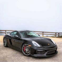 Porsche Cayman GT4 painted in Black  Photo taken by: @farisfetyani on Instagram (@itswhitenoise on Instagram is the owner of the car)