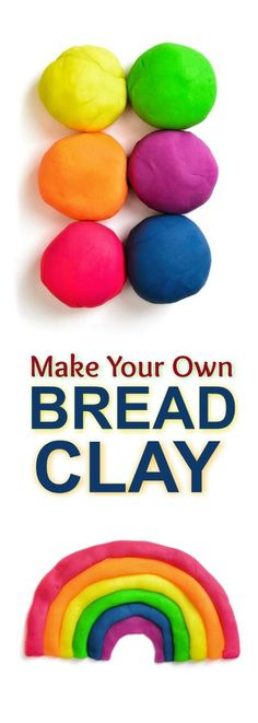 FUN KID PROJECT: Make modeling clay from bread! (no-cook, easy recipe!)