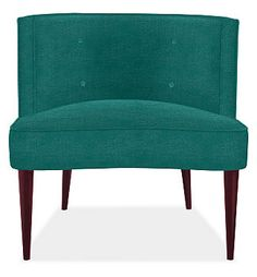 chloe chair  cognac-stained    Dimensions:  31w 30d 31h    Inside Seating:  31w 21d    Seat Height:  18h