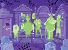 Disney's Haunted Mansion and Shag |