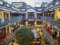 Kingly Court, Soho (click through to Not Quite Enough for more)
