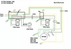 wiring for a ceiling exhaust fan Electrical Pinterest Ceilings