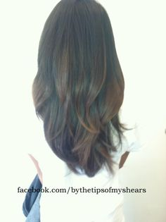 natural effect ombre on virgin hair. !!
