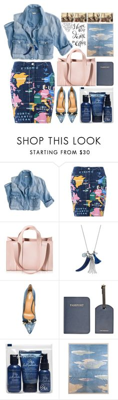 """""""On The Way"""" by grozdana-v ❤ liked on Polyvore featuring J.Crew, Love Moschino, Corto Moltedo, Coco Lane, Dsquared2, Vera Bradley, Bumble and bumble, Natural Curiosities and traveloutfit"""