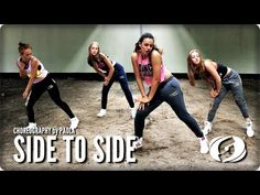 SIDE TO SIDE - Salsation® Choreography by Paola - YouTube