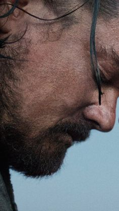 Leonardo DiCaprio. The revenant. An example of stunning cinematography and phenomenal acting.