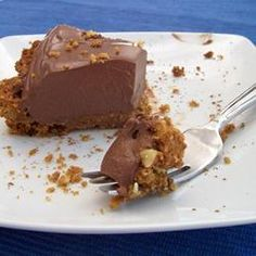 Tofu Chocolate Tart @ http://allrecipes.co.uk