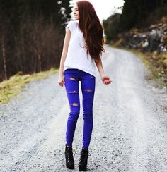 love this outfit - especially the jeans