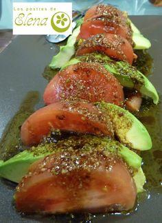 1000 images about ensaladas y sopas frias on pinterest recetas gazpacho and fresco - Ensalada con salmon y aguacate ...