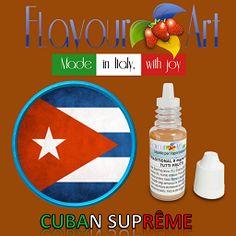E-Liquide Cuban Suprême de Flavour Art, sur Top Cigarette Electronique