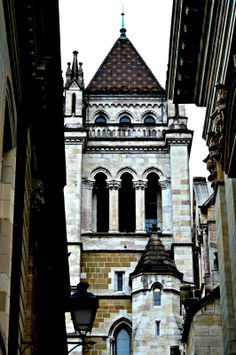 St Pierre Cathedral, Geneva - just went here!