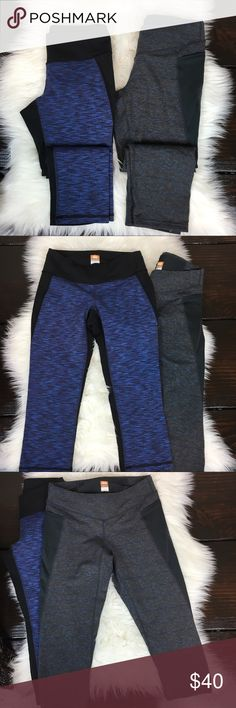 Lucy Athletic Capris Lucy a]Athletic Capris - This listing is for both pairs! BOTH A size Small  both have a 19 inch inseam the Grey pair has a Medium Pocket as well as mesh Pocket sides! Lucy Pants Capris