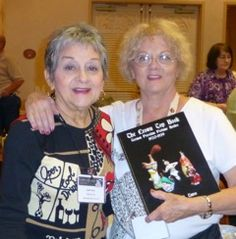 Book signing - the Turco sisters with Pauline's new one on Crowntops - do you have it yet??