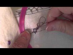 Breton Stitch - YouTube