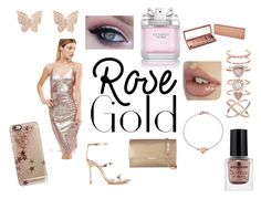 """""""think ROSEGOLD"""" by elena-v-1 ❤ liked on Polyvore featuring Club L, Sophia Webster, Ted Baker, Casetify, Latelita, Accessorize, Urban Decay and Victoria's Secret"""