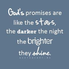God's promises are like the stars ★★★