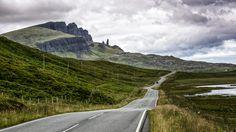 Isle of Skye - Isle of Skye on the road - Highlands