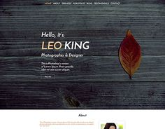 "Check out new work on my @Behance portfolio: ""LEO - OnePage Creative Portfolio"" http://be.net/gallery/42653245/LEO-OnePage-Creative-Portfolio"