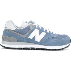 New Balance 574 core plus sneakers (610 AED) ❤ liked on Polyvore featuring shoes, sneakers, blue, new balance, blue sneakers, new balance shoes, blue shoes and new balance trainers