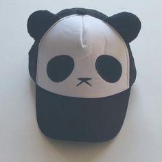 Pet panda cap