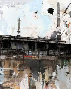 """the series Urban Landscapes Painting Saatchi Online Artist: Serj Fedulov; Mixed Media, Painting """"From the series Urban Landscapes""""Saatchi Online Artist: Serj Fedulov; Mixed Media, Painting """"From the series Urban Landscapes"""" Landscape Drawings, Cool Landscapes, Beautiful Landscapes, Landscape Paintings, Mixed Media Photography, Creative Photography, Landscape Photography, Art Photography, Photography Couples"""
