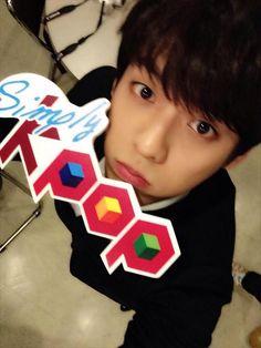 Minhyuk #SimplyKpop ♡