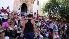 Subida al Santuario de la Fuensanta de Murcia