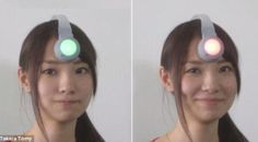 Kokoro Scanner mudah dipakai, hanya perlu dipasang di kepala selayaknya memakai topi.