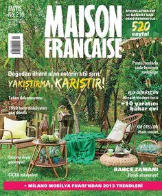 Maison Française Dergisi, Mayıs sayısı yayında! Hemen okumak için: http://dijimecmua.com/maison-francaise/