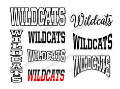 Check out our millry wildcat svg selection for the very best in unique or custom, handmade pieces from our shops. Silhouette Projects, Silhouette Studio, Wrestling Mom Shirts, School Spirit Shirts, School Shirts, Cheer Shirts, Football Shirts, Vinyl Cutting, Svg Files For Cricut