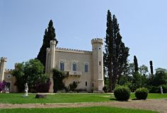 The Queen's Tower was built in 1854 by Queen Amalia. (Walking Athens, Route 30 - Tritsis Park)