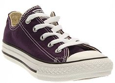 Converse Kids Chuck Taylors 35 DM 55 BM Eggplant * You can get more details by clicking on the image.