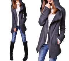 Black swan  thick cotton fleece jacket Y3119 by idea2lifestyle, $75.00