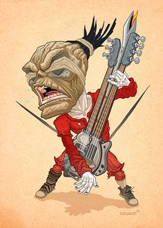 Artist Tim Odland has created a wonderfully fun new series of art featuring  characters from Mad Max: Fury Road. These are all great pieces, and my  favorite easily has to be his portrayal of The Doof Warrior.To see some of  Odland's previous Mad Max-inspired art, click here and here. If you wan