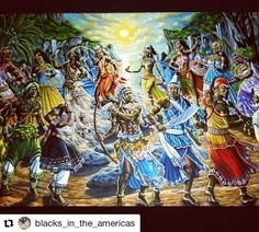 #Repost @blacks_in_the_americas with @repostapp    In class this week I am lecturing on Afro-Latin American Religions. I am focusing on Candomblé and Santerìa: two of the several Yoruba-based African-derived religions that have been in the Americas since colonial times and continue to have a strong presence today. (For those who know more about these religions PLEASE feel free to share your knowledge on this post or via inbox.) Image from: http://ift.tt/2oCt98j #blacksintheamericas…