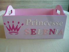 Boite Personnalisée Princesse