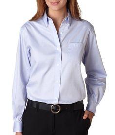 VAN HEUSEN Ladies L/S Oxf Shirt Van Heusen. $35.58