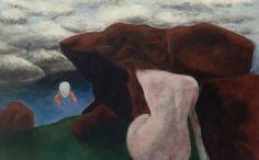 Josef Šíma - The memory of the landscape I've never seen  #painting #art #Czechia