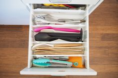 cupboard organization Best way to organise the kitchen utensil drawer - The Organised Housewife