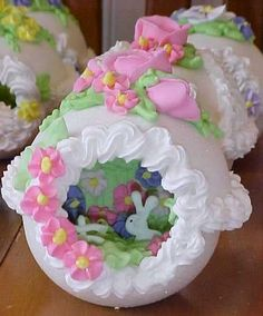 Sugar Easter Egg- my mom used to make these.