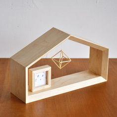 無垢の木で作ったペットのお仏壇、もうひとつの小さなおうち「house」